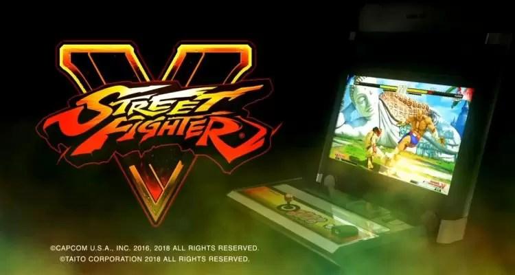 Street Fighter V će konačno dobiti arkadne automate u 2019.