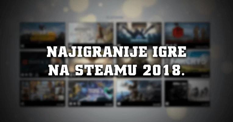 Najigranije igre na Steamu u 2018. godini