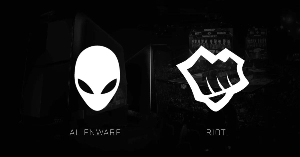 Riot i Alienware su sinoć skolpili dugogodišnje partnerstvo