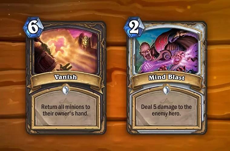 Uskoro stižu nove Hearthstone karte! Mind Blast i Vanish će biti zamenjeni