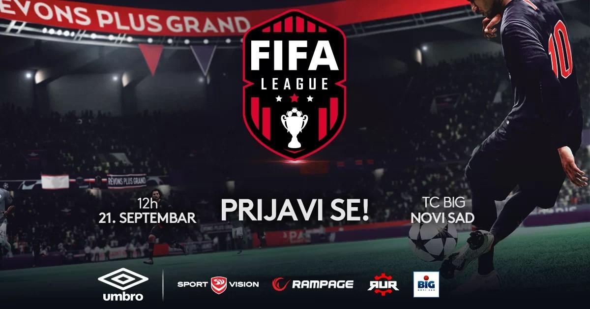 FIFA19 turnir – TC BIG Shopping Center Novi Sad 21.09.2019!