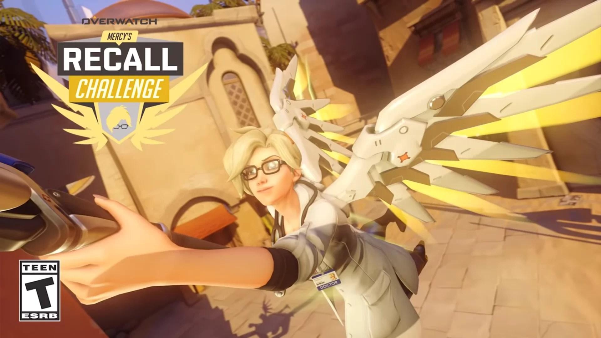 Overwatch : Mercy's Recall event