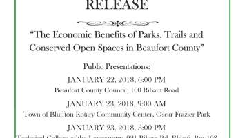Economic Benefits Report to be Released January 22 & 23, 2018