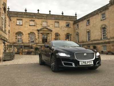 Jaguar XJL Autobiography at St Martins College, Near Ampleforth in North Yorkshire