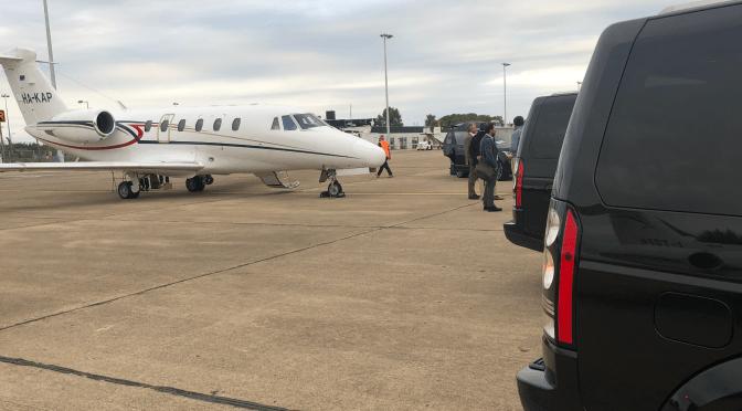 Airside Chauffeur Service