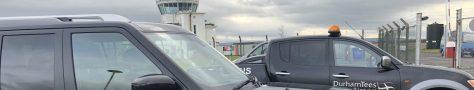 Vehicles at Durham Airport