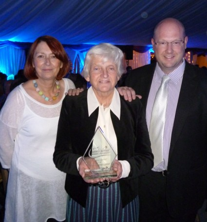 Collecting the SuffolkACRE Community Service Award