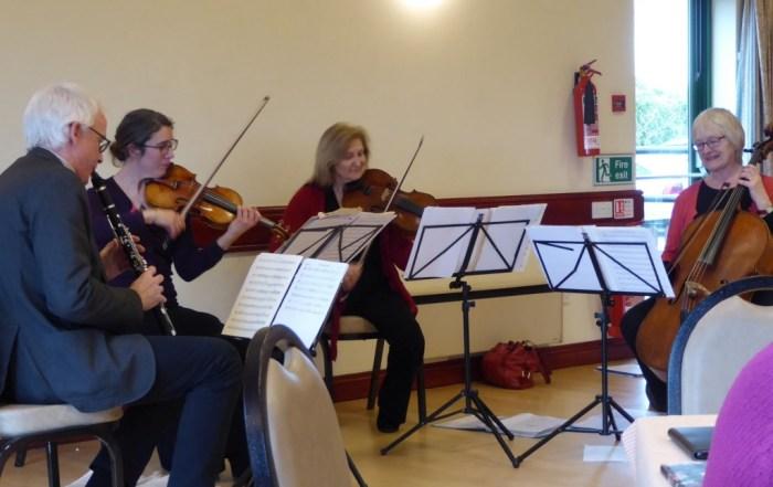 Suffolk Philharmonic Players performing at Freckenham Village Hall