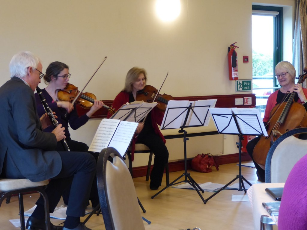 Suffolk Philharmonic Players performing at Freckenham Village Hall