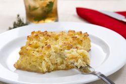 Bacalhau no forno com batata doce