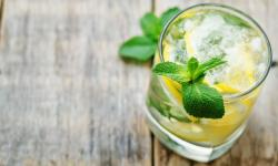 Gin com hortelã