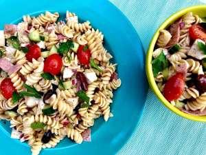 Salada fria italiana