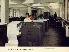 Accounts Department 1963-1964