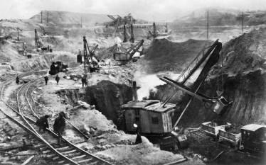Preparing the Embankments