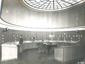 Main control room at Ardnacrusha November 1929