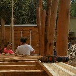 building shanti truck