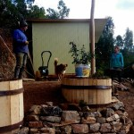 building kitchen area