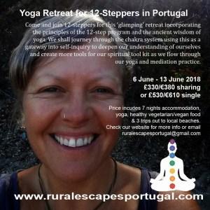12 step retreat June