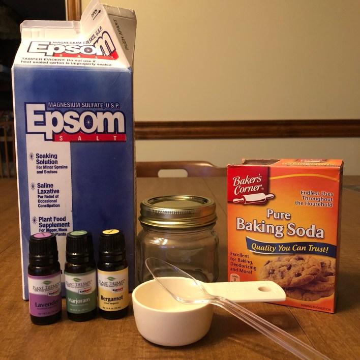 DIY Epsom Salt Foot Soak - Her Rural Highness