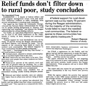 Relief funds don't filter down to rural poor, study concludes