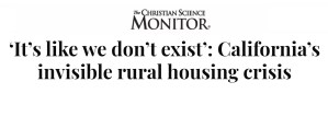 'It's like we don't exist': California's invisible rural housing crisis