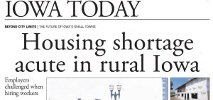 Housing shortage acute in rural Iowa