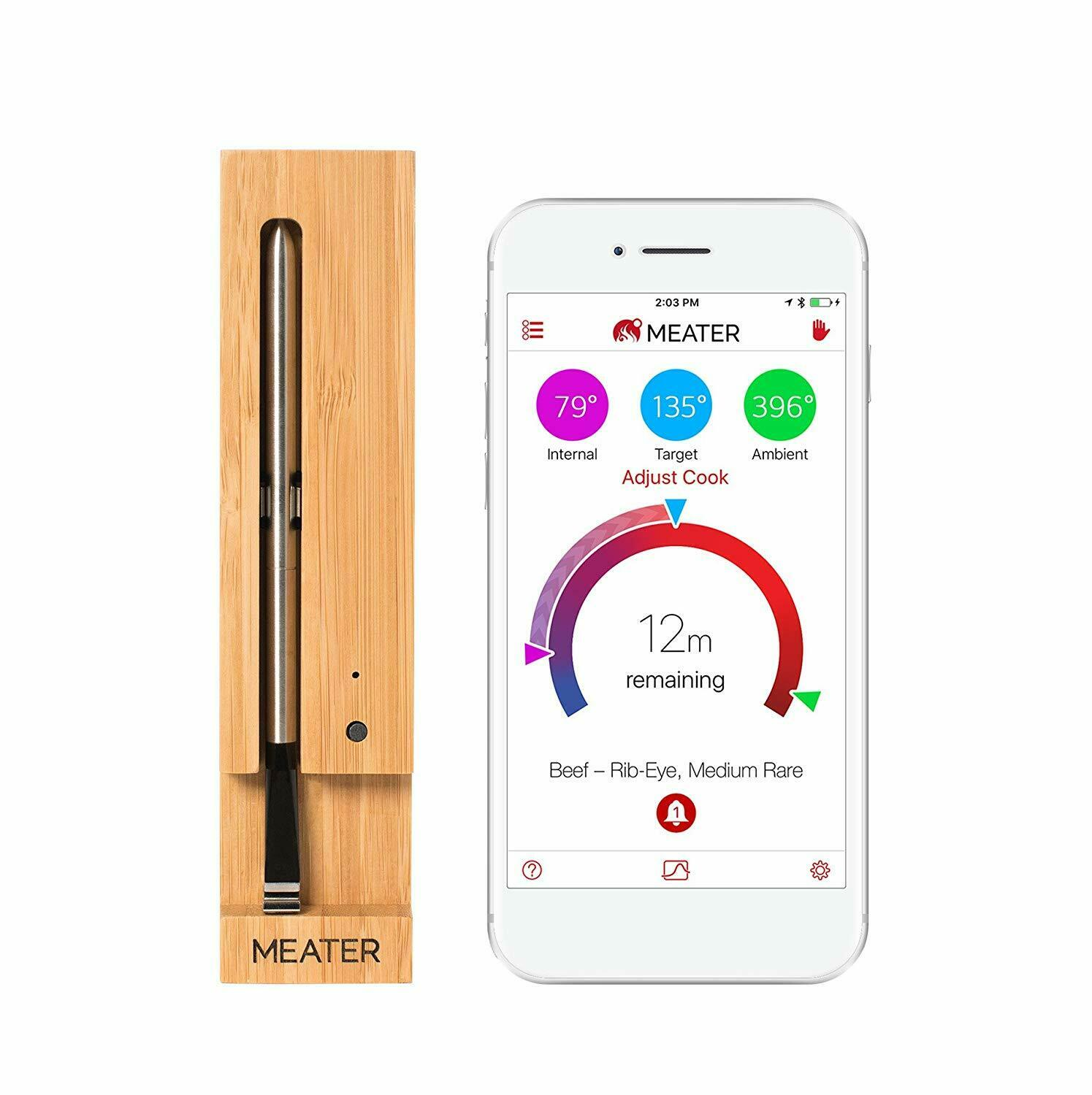 MEATER+ – Long Range Smart Wireless Meat Thermometer
