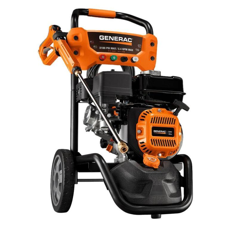 Generac – 3100 E- Start Power Washer