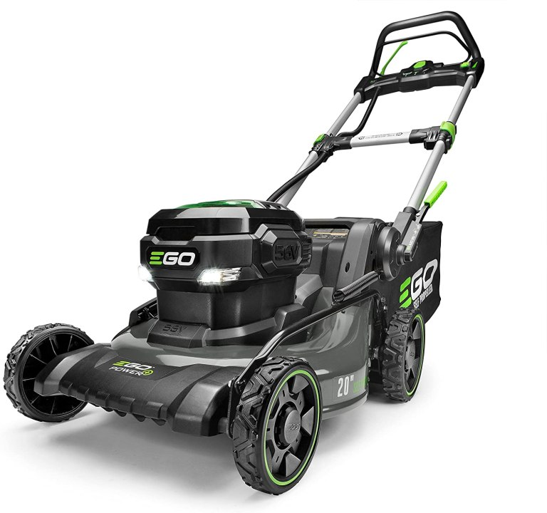 EGO Power+ –  20-Inch 56-Volt Lithium-ion Walk Behind Self-Propelled Lawn Mower
