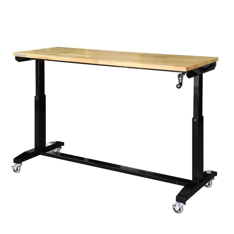 Husky – Adjustable Height Work Table