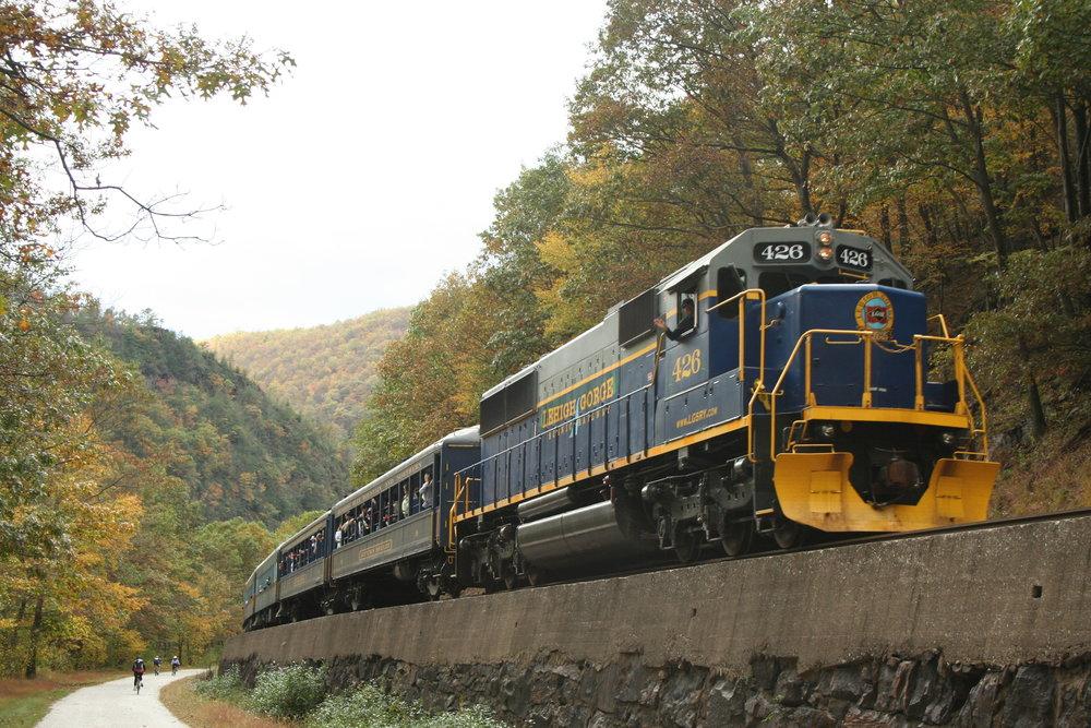 Trip – Lehigh Gorge Scenic Railway