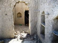 Inside view of a room in the Nazar ruins.