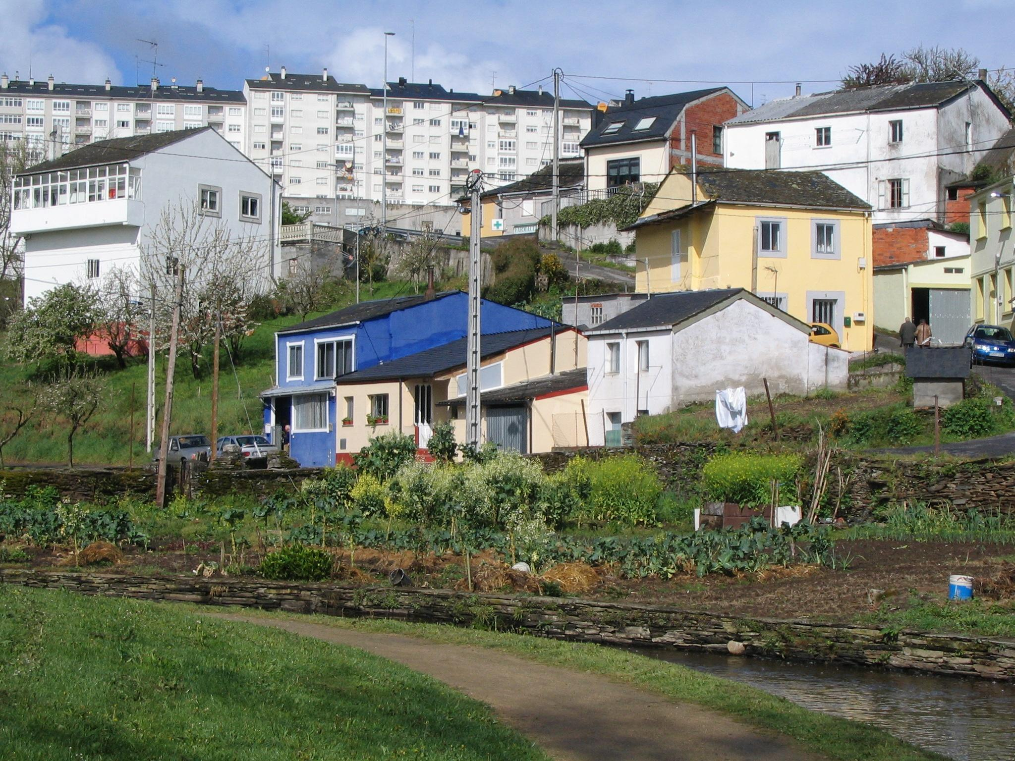city - countryside transition in galicia