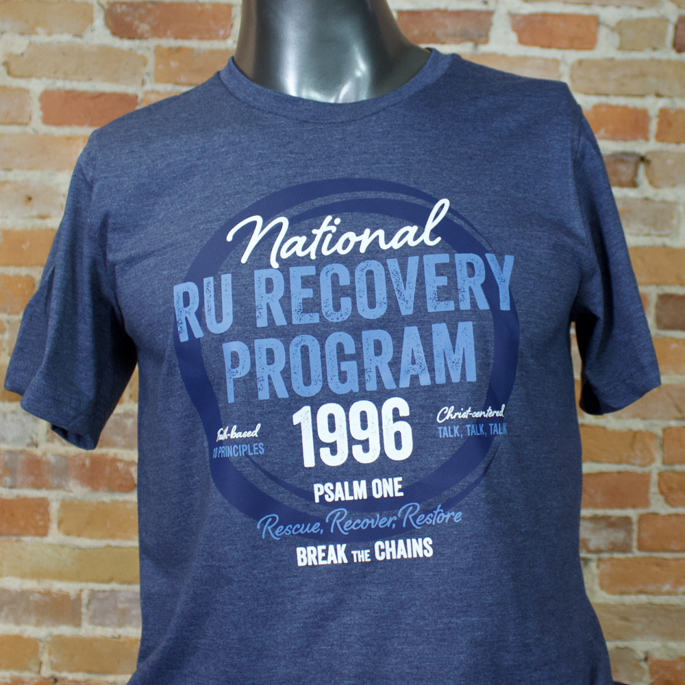 Ru Recovery Program Vintage All Things Ru T Shirt Ru Recovery
