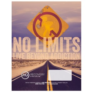 No Limits | Live Beyond Addiction (Mini-Poster)
