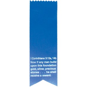 18 Challenge Award Ribbon - Blue
