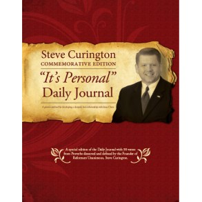 """Its Personal"" Daily Journal: Steve Curington Commemorative Design"