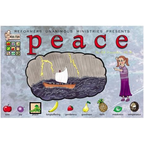 Kidz Club Peace Story Board
