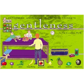 Kidz Club Gentleness Story Board