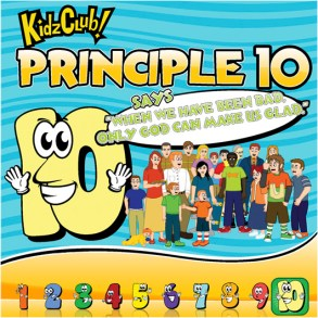 Kidz Club Principle 10 Story Book