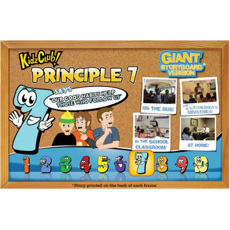Kidz Club Principle 7 Storyboard
