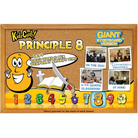 Kidz Club Principle 8 Storyboard