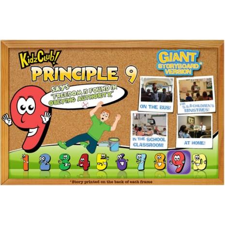 Kidz Club Principle 9 Storyboard