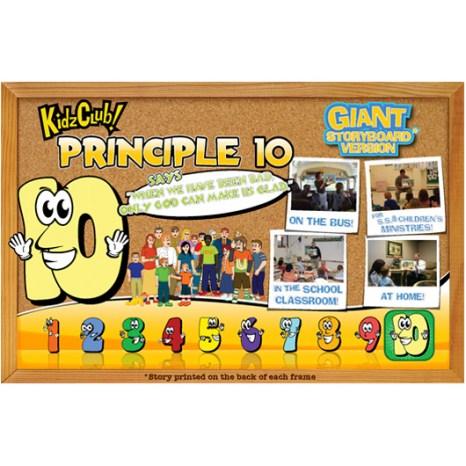 Kidz Club Principle 10 Storyboard