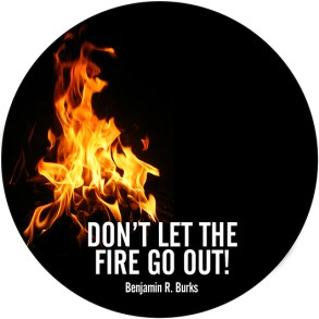Don't Let Your Fire Go Out (Audio CD)