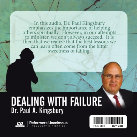 Dealing With Failure (Audio CD)