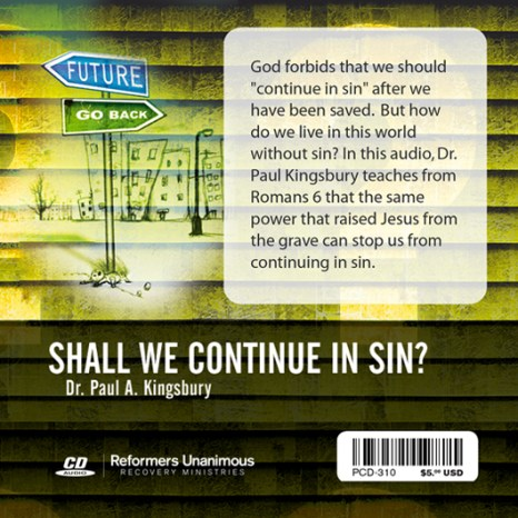Shall We Continue in Sin? (Audio CD)
