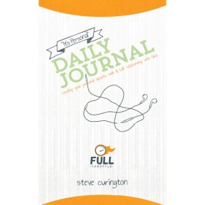 """Full Throttle """"It's Personal"""" Daily Journal"""