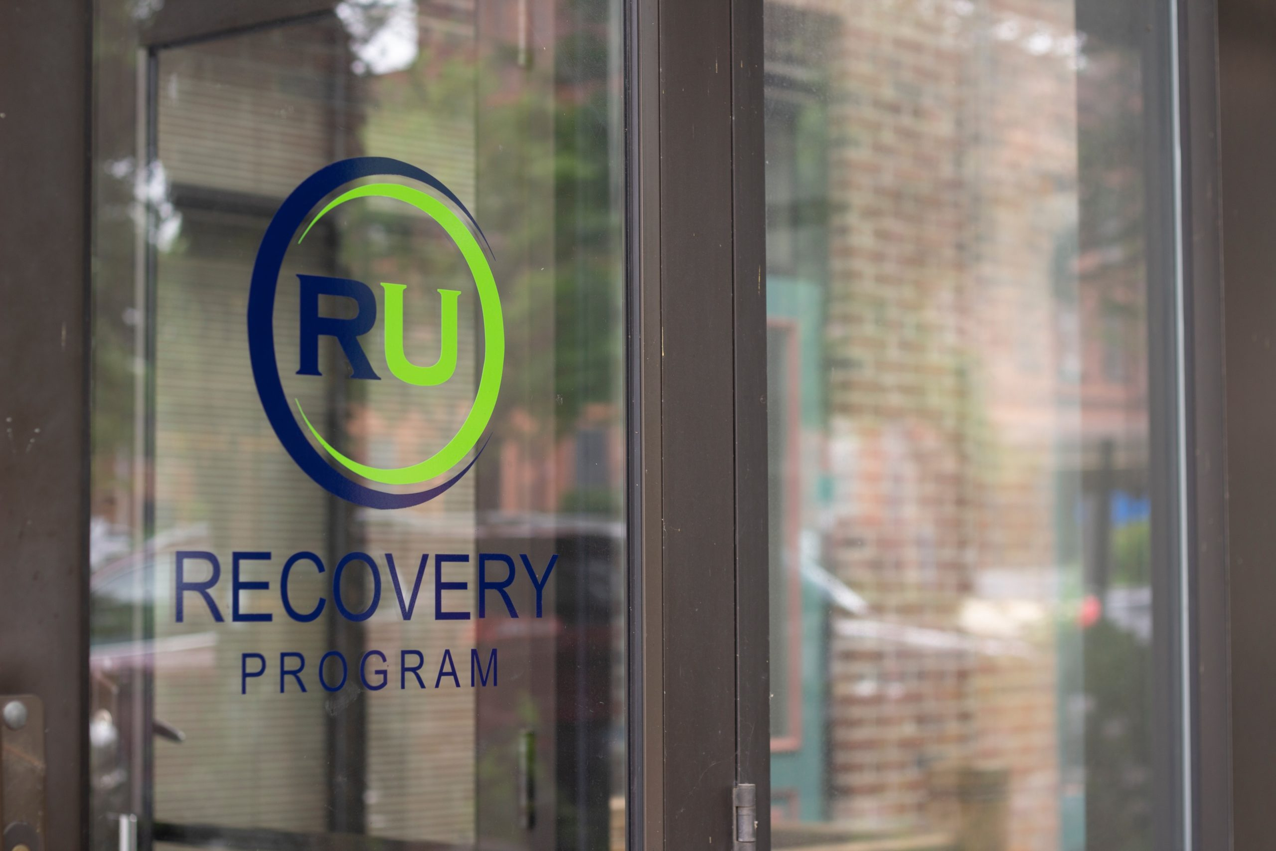 Entrance to RU Recovery Ministry Headquarters a Faith-Based Recovery Program
