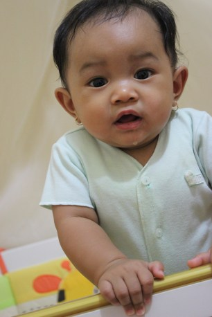 8 months old baby kences ayna